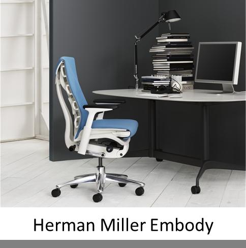 herman miller embody em kantoorinrichting. Black Bedroom Furniture Sets. Home Design Ideas