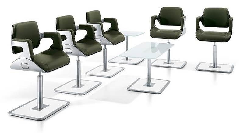 interstuhl silver loungestoel 810s em kantoorinrichting. Black Bedroom Furniture Sets. Home Design Ideas