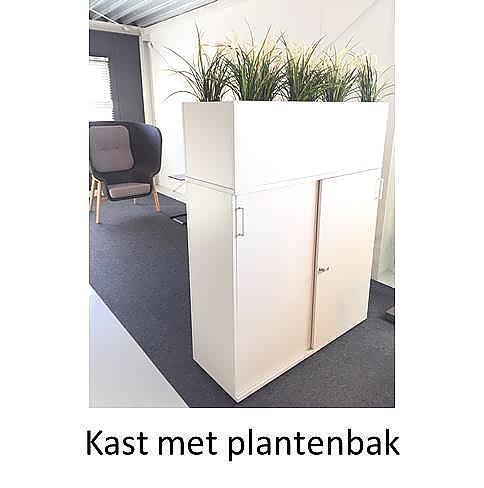 Kast Met Plantenbak Em Kantoorinrichting