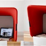 DriVK Deskbooth, verplaatsbare telefoonkap, stiltewerkpek voor op bureau, deskbooth 3