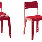 Cappellini Stitch Chair, stitch chair Cappellini,  klapstoel Cappellini, stitch chair, adam goodrum stitch chair, stitch stool 2