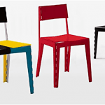 Cappellini Stitch Chair, stitch chair Cappellini,  klapstoel Cappellini, stitch chair, adam goodrum stitch chair, stitch stool 4
