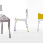 Cappellini Stitch Chair, stitch chair Cappellini,  klapstoel Cappellini, stitch chair, adam goodrum stitch chair, stitch stool 5