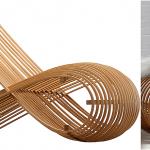 Cappellini Wooden Chair, gebogen hout stoel, vis stoel, gebogen hout stoel vis 3