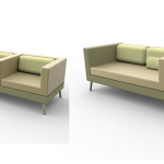 FP Collection LL Bank, LL fauteuil, ll wachtbank kees marcelis ssst collectie, kees marcelis bank, kees marcelis 3