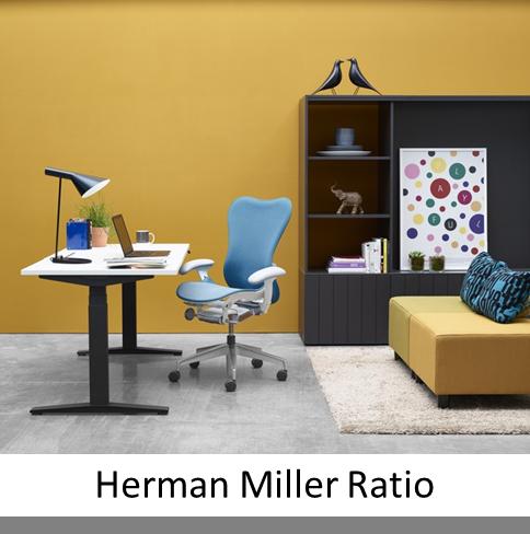 herman miller ratio em kantoorinrichting. Black Bedroom Furniture Sets. Home Design Ideas