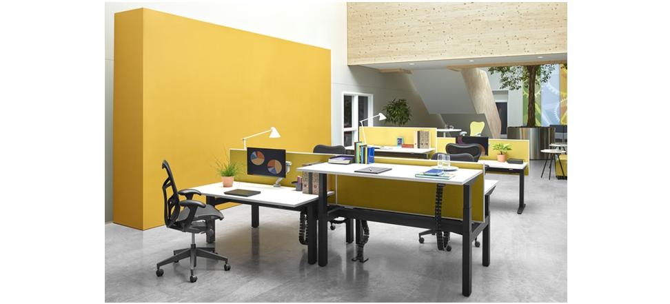 herman miller ratio duo em kantoorinrichting. Black Bedroom Furniture Sets. Home Design Ideas