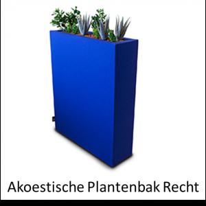 Plantenbak akoestisch recht