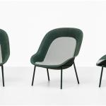 De Vorm Nook Chair EM kantoorinrichting Gerecycelde Loungechair PET Vilt 2