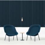De Vorm Nook Chair EM kantoorinrichting Gerecycelde Loungechair PET Vilt 4