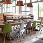spoinq-square-stoelen aan tafel verschillende modellen