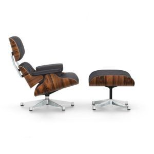 Vitra Eames Lounge Chair en Ottoman