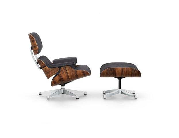 Vitra Eames Lounge Chair en Ottoman